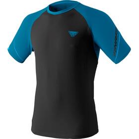Dynafit Alpine Pro Maglietta A Maniche Corte Uomo, nero/blu